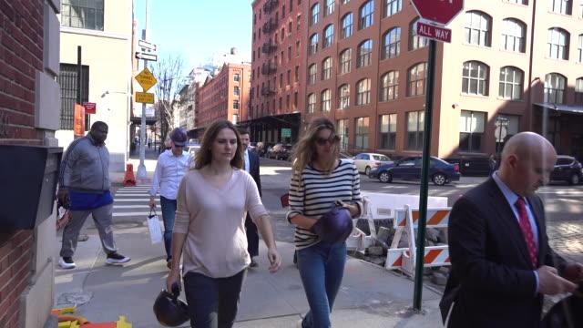 Gisele Bundchen is seen in Tribeca on February 21 2018 in New York City