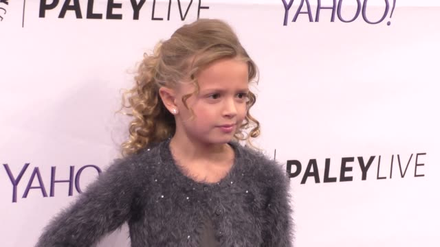giselle eisenberg at the paleylive an evening with life in pieces at the paley center for media in beverly hills at celebrity sightings in los... - paley center for media los angeles stock videos & royalty-free footage