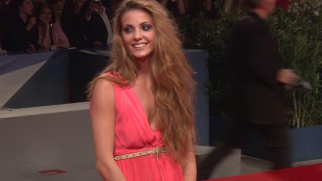 Giulia Valentini at 'Un Giorno Speciale' Premiere 69th Venice Film Festival in Venice Italy on 09/07/12