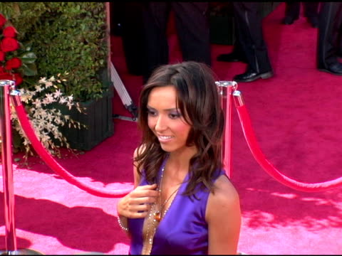giuliana depandi at the 2006 primetime emmy awards arrivals at the shrine auditorium in los angeles, california on september 19, 2004. - shrine auditorium stock videos & royalty-free footage