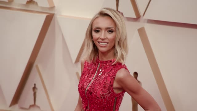 giuliana rancic at the 92nd annual academy awards at dolby theatre on february 09 2020 in hollywood california - academy of motion picture arts and sciences stock videos & royalty-free footage
