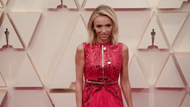 giuliana rancic at the 92nd annual academy awards at dolby theatre on february 09, 2020 in hollywood, california. - academy awards stock videos & royalty-free footage