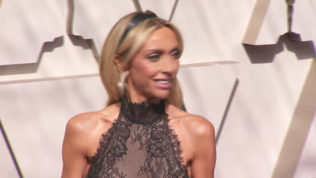 giuliana rancic walking the red carpet at the 91st annual academy awards at the dolby theater in los angeles, california. - music or celebrities or fashion or film industry or film premiere or youth culture or novelty item or vacations 個影片檔及 b 捲影像