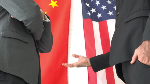 usa give some deal to china - american politics stock videos & royalty-free footage
