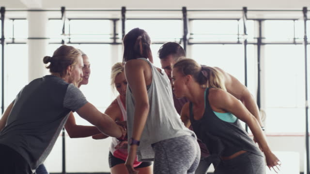 giving each other that extra push - health club stock videos & royalty-free footage