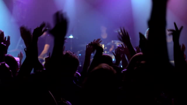 giving the fans what they want! - rock group stock videos & royalty-free footage