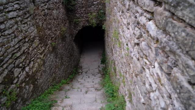 gjirokaster castle - albania stock videos & royalty-free footage