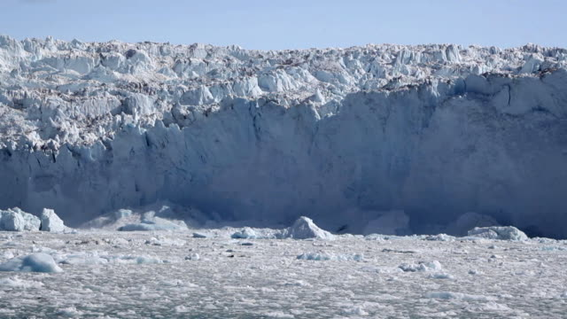 glacial ice avalanche part 3 - avalanche stock videos and b-roll footage