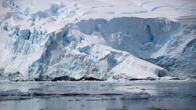 Glacier at Antarctic Coast