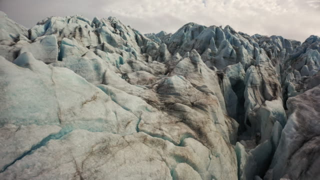 glacier at woodfjorden - glacier stock videos & royalty-free footage