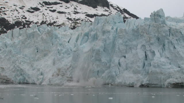 glacier calving - ice floe stock videos & royalty-free footage