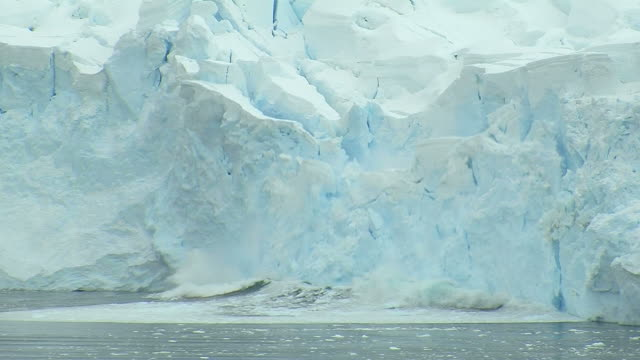 glacier calving - climate change stock videos & royalty-free footage