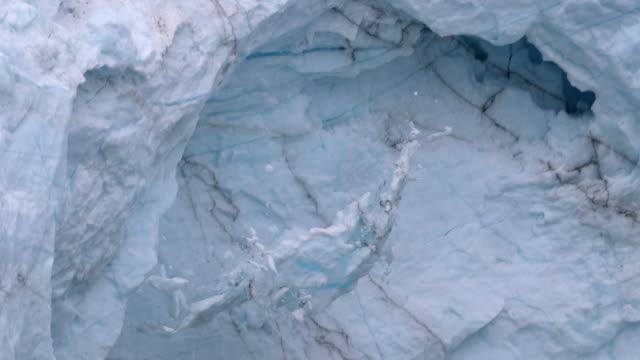 glacier calving - collapsing stock videos and b-roll footage