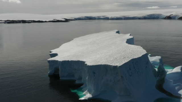 glacier floating in the antarctic sea - ice sheet stock videos & royalty-free footage