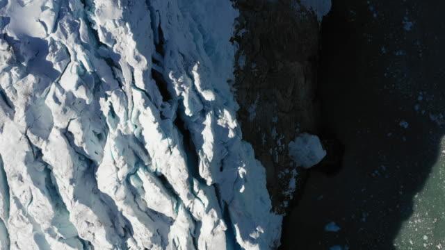glacier in antarctica - icecap stock videos & royalty-free footage