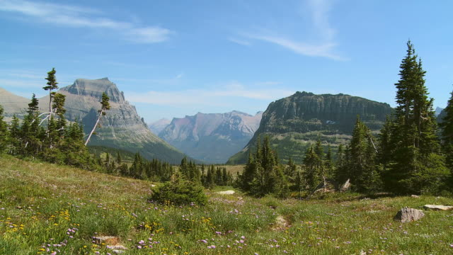 hd: glacier nationalpark - glacier nationalpark stock-videos und b-roll-filmmaterial
