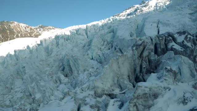 glacier overlook - cliff stock videos & royalty-free footage