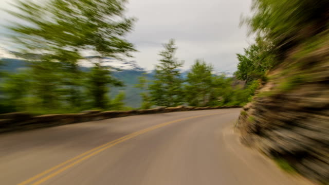 glacier park driving - glacier national park us stock videos and b-roll footage
