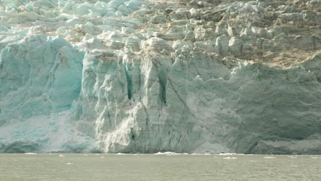glacier wall in patagonia - cliff stock videos & royalty-free footage
