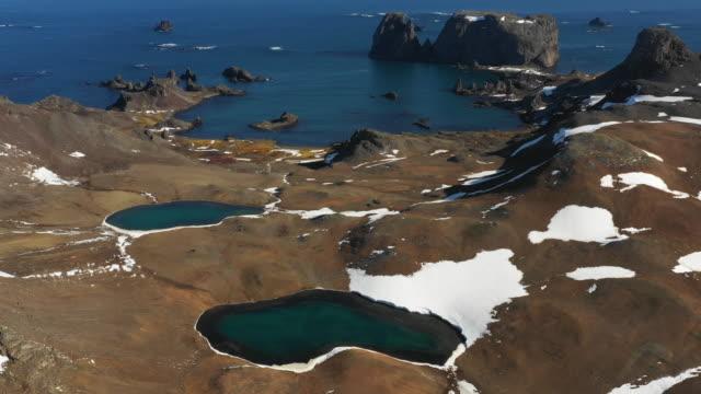 glaciers disappearing in antarctica - gezeitentümpel stock-videos und b-roll-filmmaterial