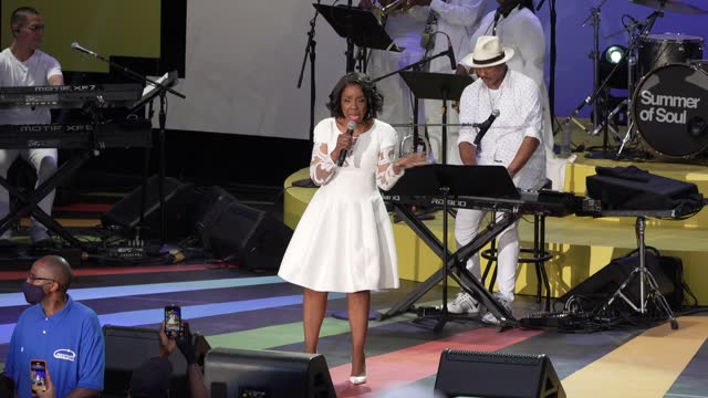 """NY: """"Summer of Soul"""" Juneteenth Celebration presented by Targetin association with Capital One City Parks Foundation SummerStage, NYC Parks' Historic Harlem Parks and Jazzmobile"""