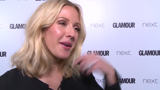 Arrivals and winners Ellie Goulding / Amy Schumer interview SOT / Jennifer Saunders interview SOT