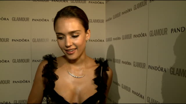 winners' room interviews Jessica Alba on award on her business on her movie career making an indie film on independent movies vs blockbusters Kelly...