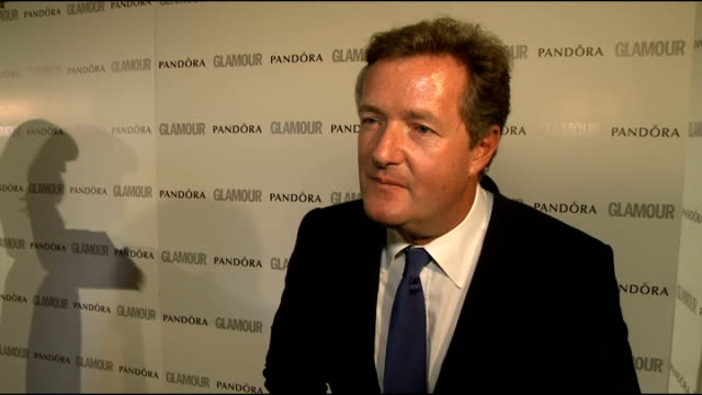 winners' room interviews Piers Morgan interview SOT on being back for the Jubilee on the Queen and US obsession with royals on Lord Sugar's BAFTA win...