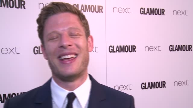 winners room james norton interview sot on james bond rumours / jennifer saunders posing backstage with award and posing with dawn french / jennifer... - jennifer saunders stock videos & royalty-free footage