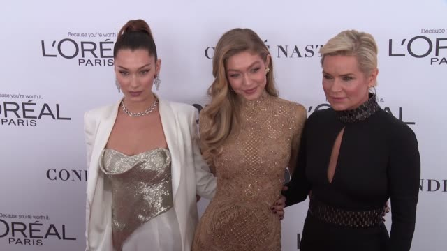 chyron glamour's 2017 women of the year on november 13 2017 in new york city - glamour stock-videos und b-roll-filmmaterial