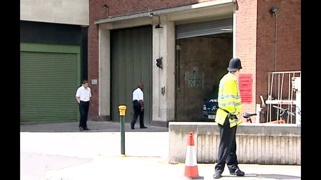 glasgow airport attack: suspect appears in court; england: london: westminster magistrates court: ext police van leaving court - the glasgow airport attack stock videos & royalty-free footage