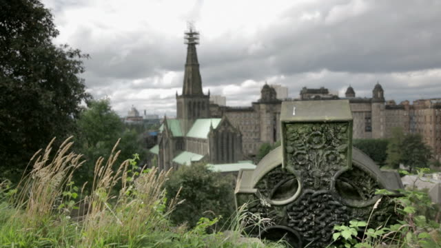 glasgow cathedral - cathedral stock videos & royalty-free footage