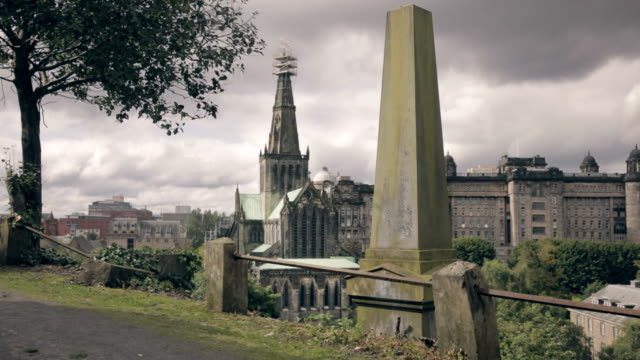glasgow cathedral - uk stock videos & royalty-free footage