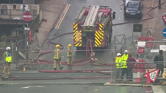 glasgow school of art fire: first minister, nicola sturgeon, visits scene and comments to press; scotland: glasgow: ext nicola sturgeon msp arriving... - member of the scottish parliament stock videos & royalty-free footage