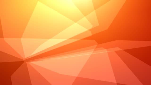 Glass background in orange