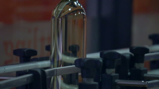 glass bottles factory - repetition stock videos & royalty-free footage
