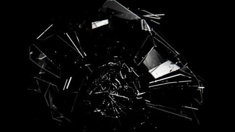 ガラス切断 - mirror点の映像素材/bロール