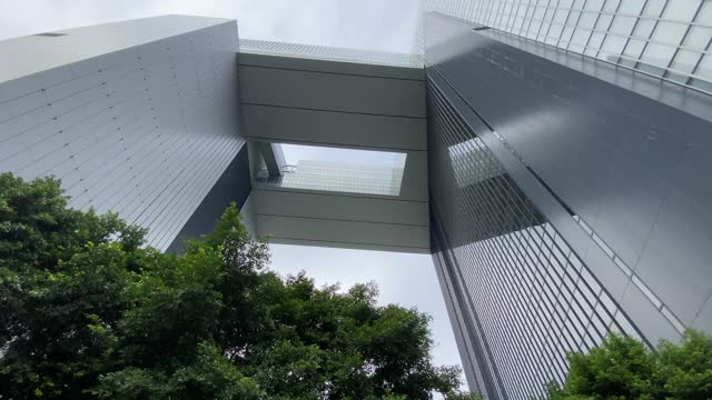 glass building downtown concept - government building stock videos & royalty-free footage