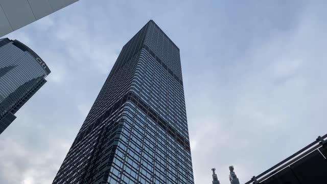 glasgebäude innenstadtkonzept - central bezirk hongkong stock-videos und b-roll-filmmaterial