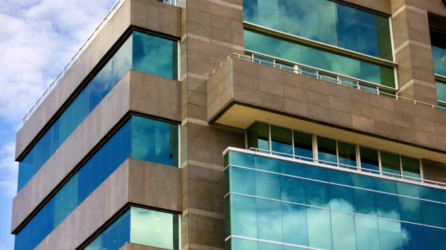 glass building time lapse - bogota stock videos & royalty-free footage