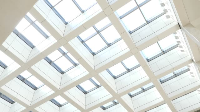 glass ceiling of the central entrance hall of the humboldt forum stands under construction on june 17 2019 in berlin germany the humboldt forum will... - berliner stadtschloss stock-videos und b-roll-filmmaterial