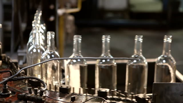 glass factory. - hd 25 fps stock videos & royalty-free footage
