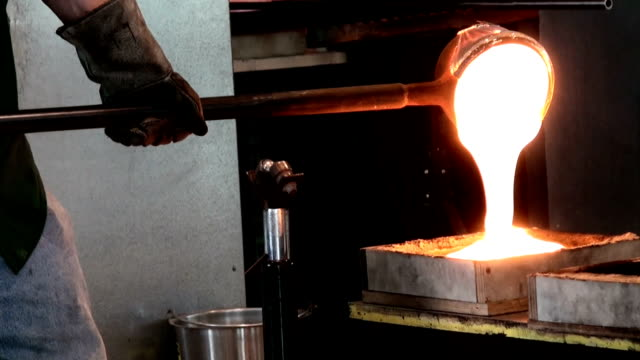 glass making - ohio stock videos & royalty-free footage