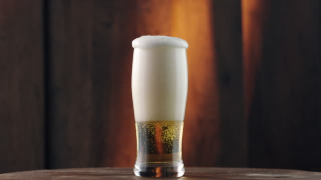 glass of beer - filling stock videos & royalty-free footage