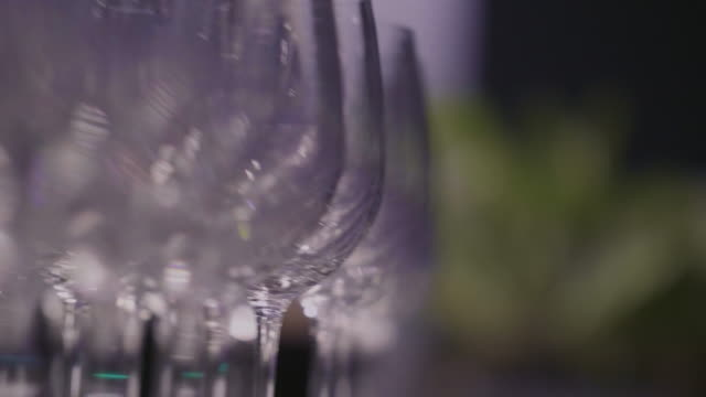 glass of champagne - champagne flute stock videos and b-roll footage
