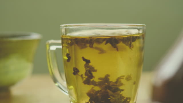 glass of tea - steep stock videos & royalty-free footage