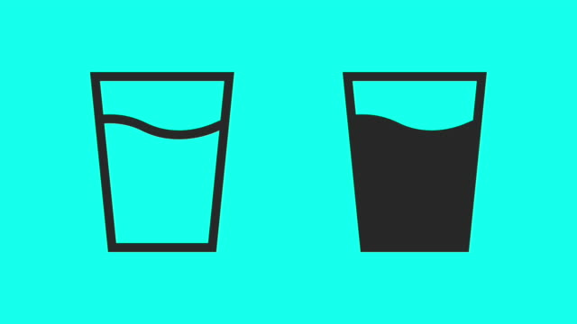Glass Water - Vector Animate