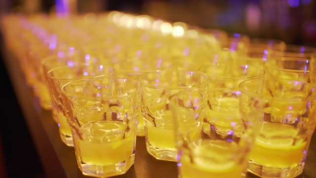 glasses of drinks - the morning after stock videos & royalty-free footage
