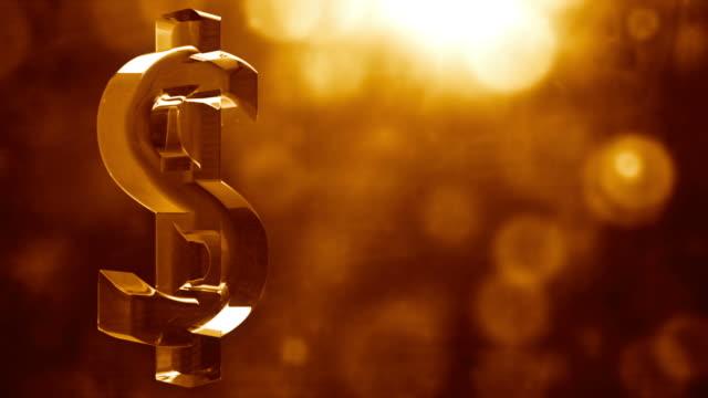 Kupfer-Dollar-Symbol Spin Hintergrund Loop-strukturierte Bronze HD
