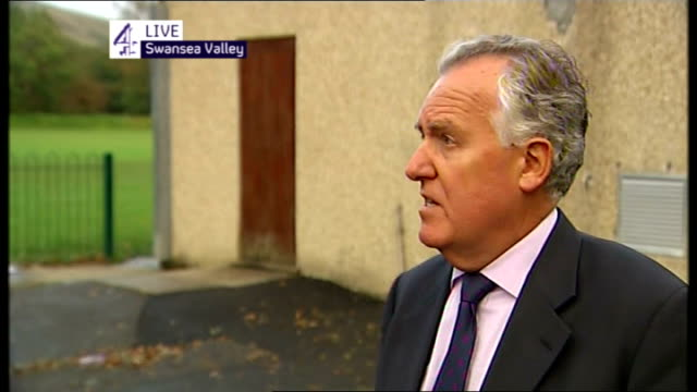 all four trapped miners found dead WALES Swansea Valley Cilybebyll Rhos EXT Peter Hain MP interview SOT